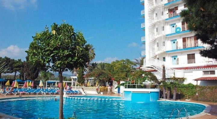 Paradis Park Hotel in Pineda de Mar, Costa Brava, Spain
