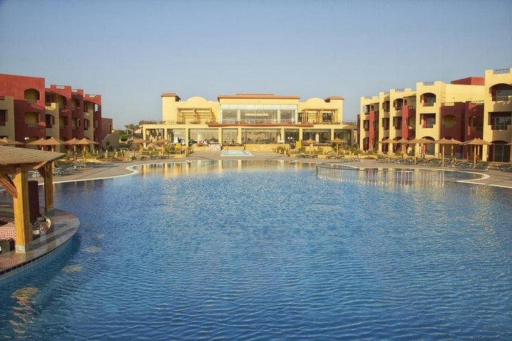 Royal Tulip Beach Resort in Marsa Alam, Red Sea, Egypt