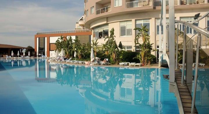 Saturn Palace in Lara Beach, Antalya, Turkey