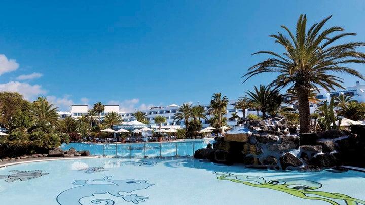 Los Jameos Playa Seaside in Puerto del Carmen, Lanzarote, Canary Islands