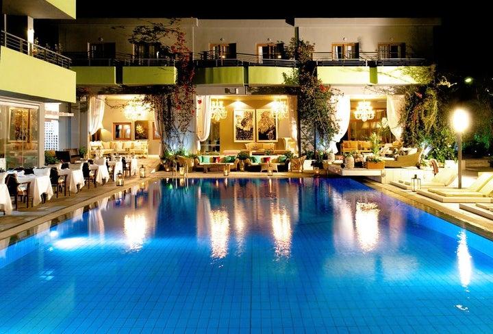 La Piscine Art Hotel in Skiathos Town, Skiathos, Greek Islands