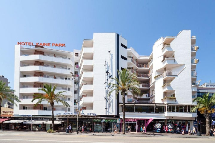 Hotel Xaine Park in Lloret de Mar, Costa Brava, Spain