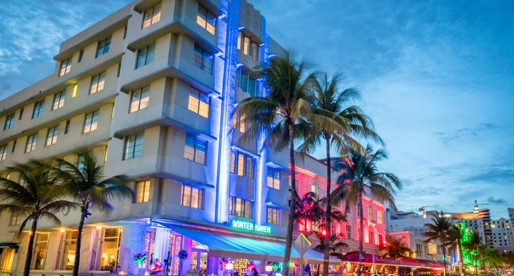 Winter Haven South Beach Miami In Florida Usa