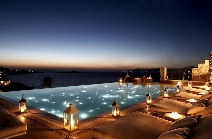Bill & Coo Suites and Lounge in Megali Ammos, Mykonos, Greek Islands