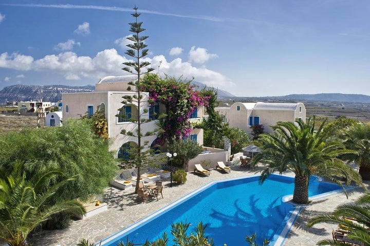 Paradise Resort in Akrotiri, Santorini, Greek Islands