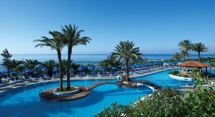 Rodos Princess Beach Hotel in Kiotari, Rhodes, Greek Islands