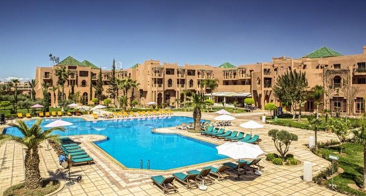 Palm Plaza Hôtel Spa In Marrakech Morocco