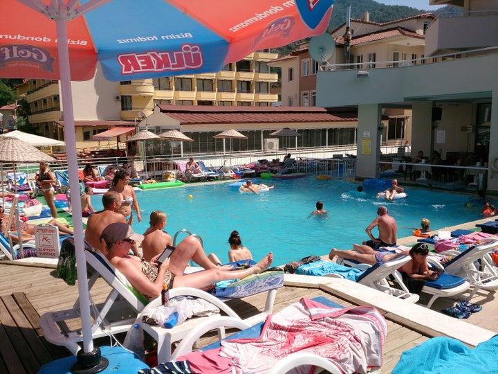 Kapmar Hotel in Icmeler, Dalaman, Turkey