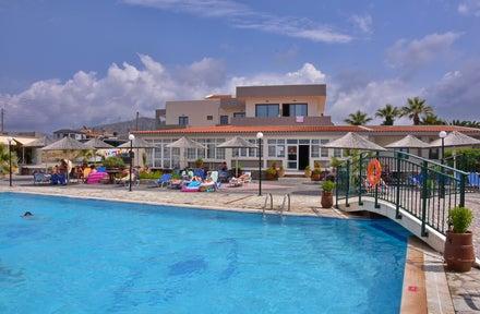 Kalia Beach Hotel Gouves Crete