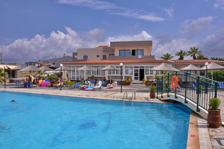 Kalia Beach Hotel in Gouves, Crete, Greek Islands