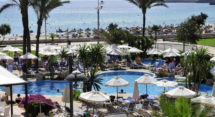Hipotels Hipocampo Playa Hotel in Cala Millor, Majorca, Balearic Islands